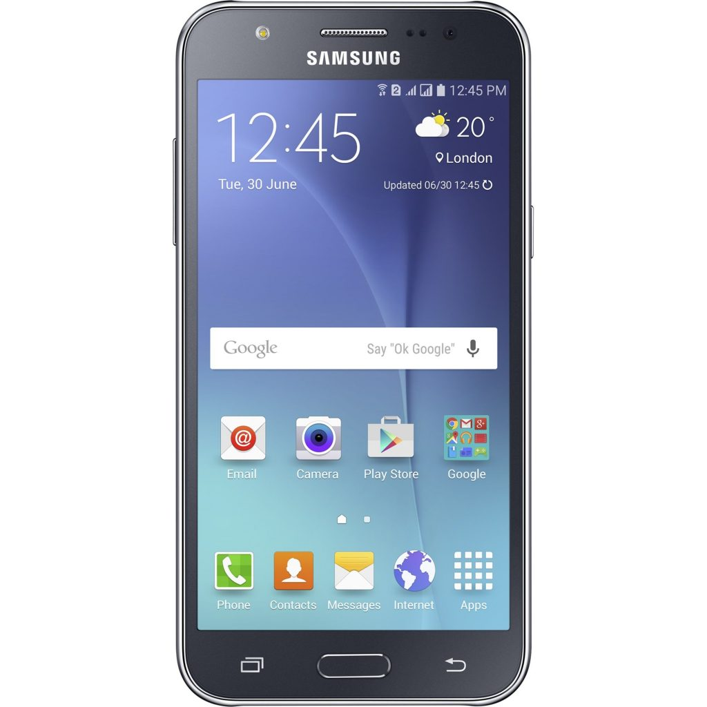 Смартфон Samsung Galaxy J5, Dual Sim, 8GB, Черен