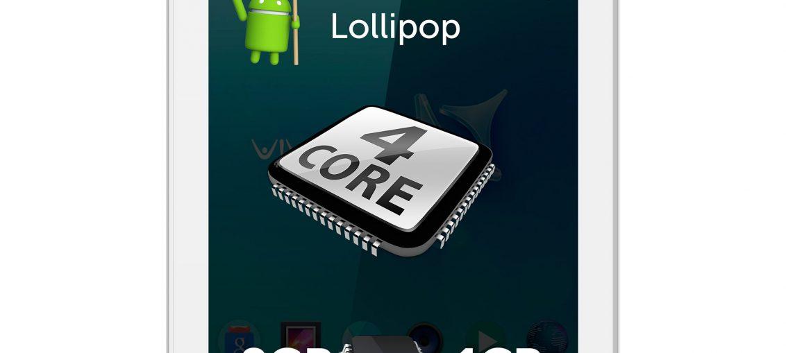 "Таблет Allview Viva C701 c процесор Cortex A7 Quad-Core 1.20GHz, 7"", 1GB DDR3, 8GB, Wi-Fi, Android 5.1 Lollipop"