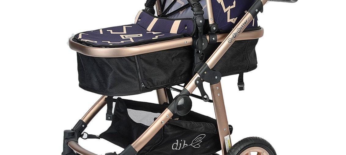 Детска количка Mappy 2 in 1, Реверсивна, Лилава