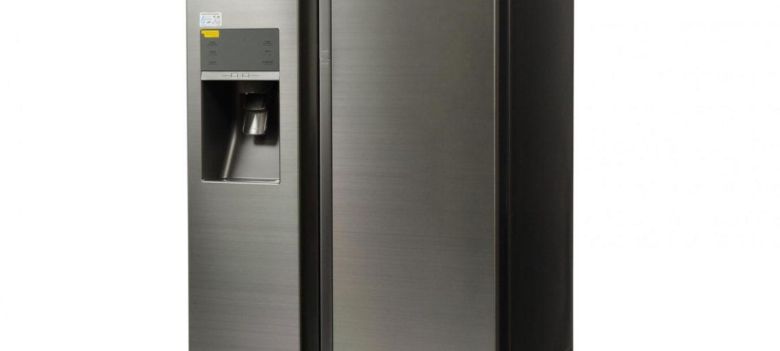 Двукрилен хладилник Side by side Full No Frost Samsung RH57H90507F, Food SwowCase, 570 л, Клас A+, H 177 см, Инокс