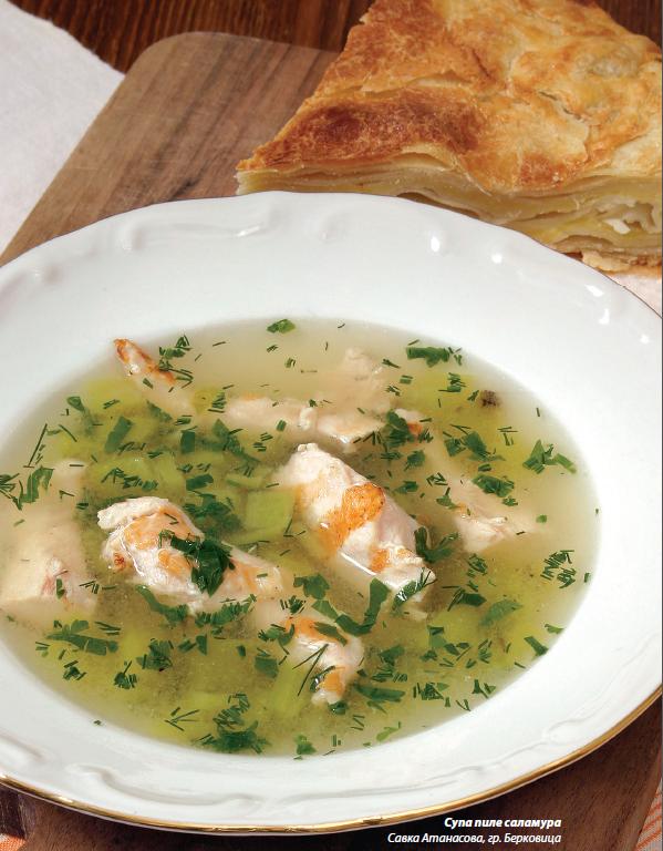 Супа пиле саламура