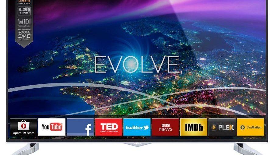 """Телевизор Smart LED Horizon 40HL910U, 40"""" (102 см), 4K Ultra HD"""