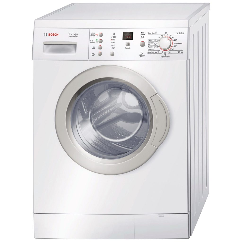 Пералня Bosch WAE20369BY, 7 кг, 1000 об/мин, Клас A+++, Бяла