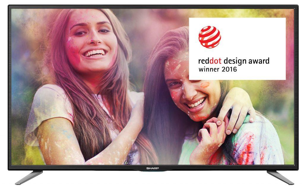 "Телевизор LED Smart Sharp, 32"" (81 см), LC-32CHE6132, HD"