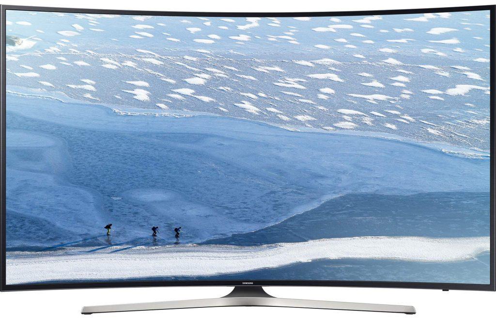 """Телевизор Smart LED Samsung 65KU6172, Извит, 65"""" (163 см), 4K Ultra HD"""