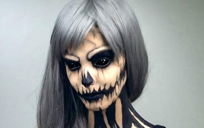 25 страховити идеи за Хелоуин грим