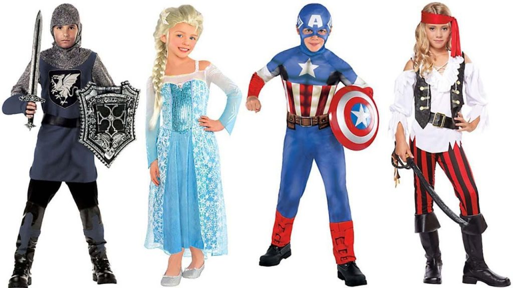 Идеи за Хелоуин костюми за деца