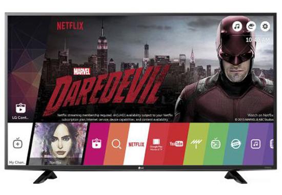 Телевизор LED Smart LG, 109 cm, 43LH590V, Full HD, Wi-Fi