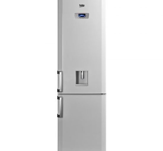 Хладилник с фризер Beko DBK 386 WDR+, 331 л, Клас A+, H 201 см, Бял