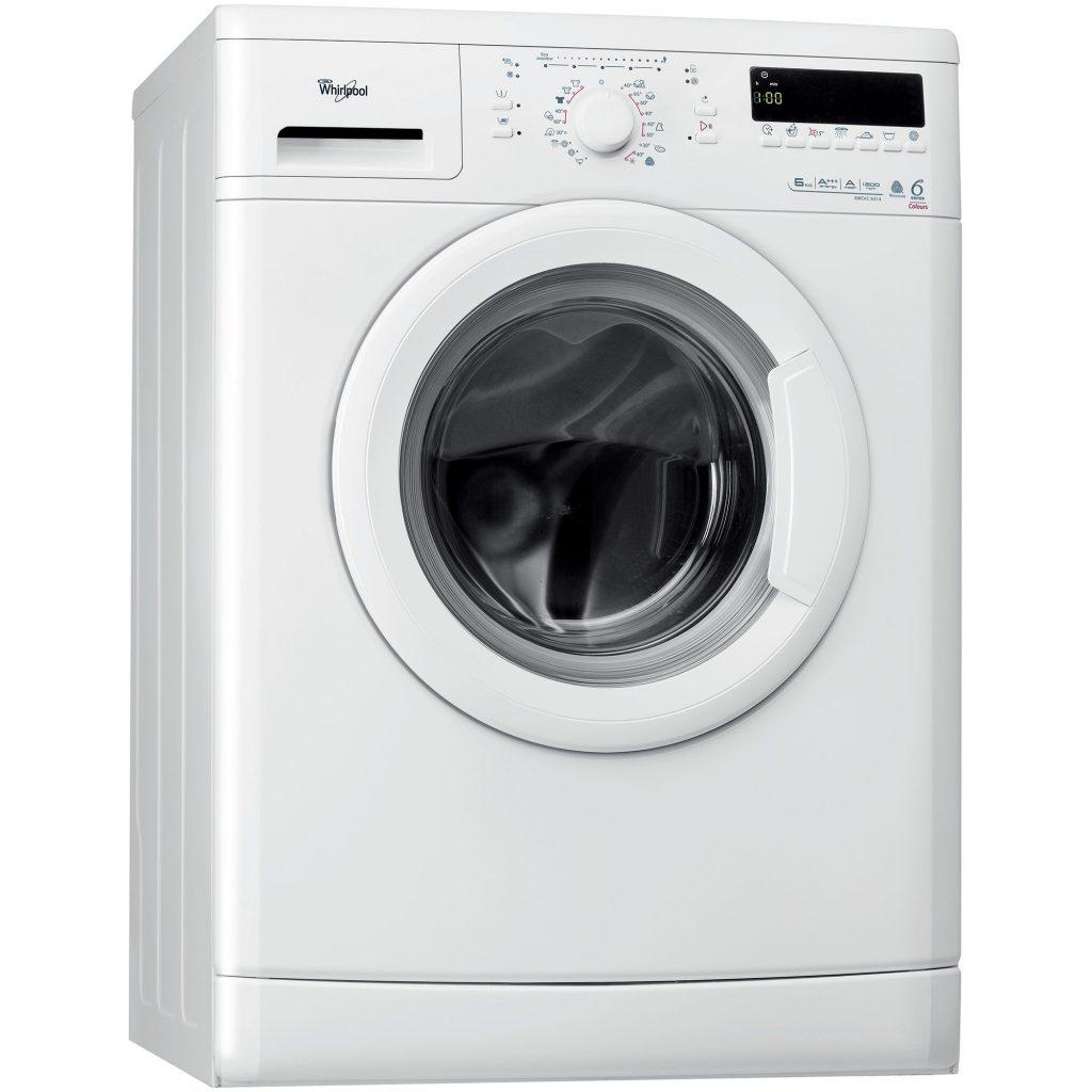 Пералня 6th Sense Colours Whirlpool AWO/C6314, 1200 об./мин, 6 кг, Клас A+++, Бяла