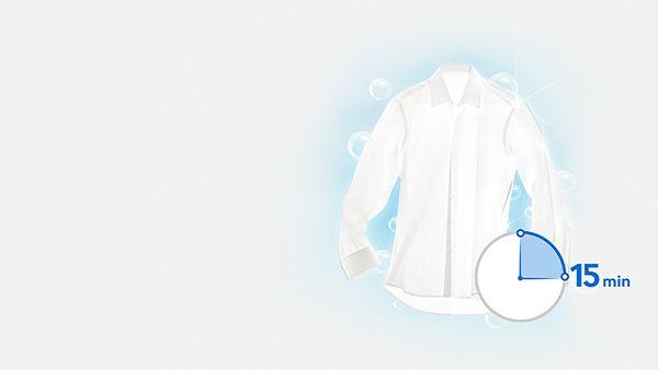Пералня Samsung Eco Bubble WW60J4060LW/LE, 6 кг, 1000 об/мин, A+++, 60 см, Бяла