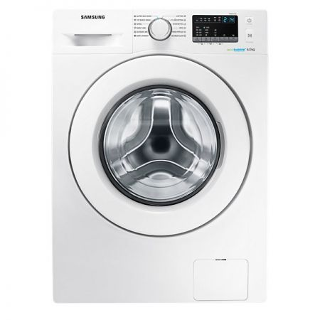 Пералня Samsung Eco Bubble WW60J4060LW/LE, 6 кг, 1000 об/мин, A+++, 60 см, Бяла