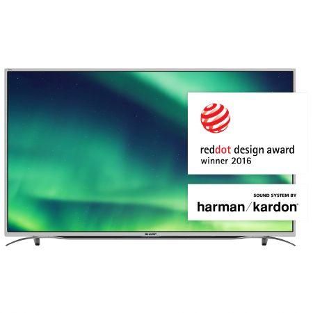 """Телевизор LED Smart Sharp,49"""" (123см), LC-49CUF8372ES, 4K Ultra HD"""