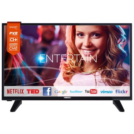 "Телевизор LED Smart Horizon, 32""(80 cм), 32HL733H, HD Ready"