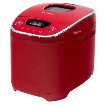 Хлебопекарна Oursson BM0801J/RD, 580 W, 10 програми, Червена