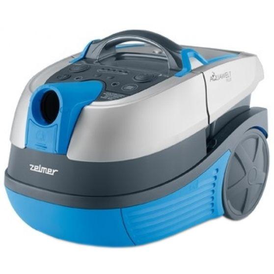 Прахосмукачка с воден филтър Zelmer Aquawelt Plus ZVC762SP, 1700 W, Функция за миене/филтриране, Филтър HEPA, Синя