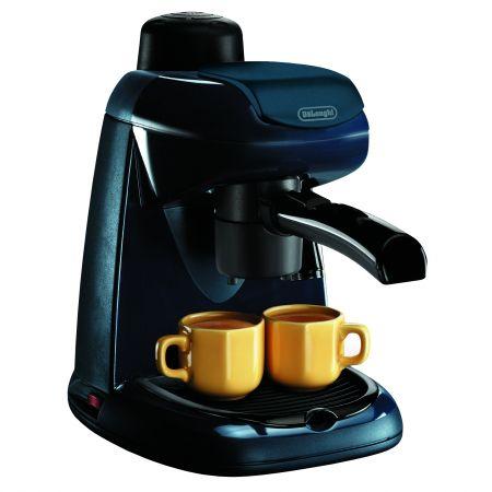 Еспресо машина DeLonghi EC5.1, Ръчна, 800 W, 0.4 л, auto off, Cappuccino System, Черна