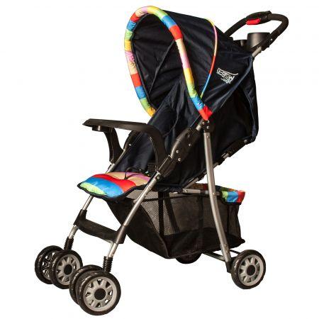 Детска количка U-Grow UGPC-BLU, Сгъваема, Синя
