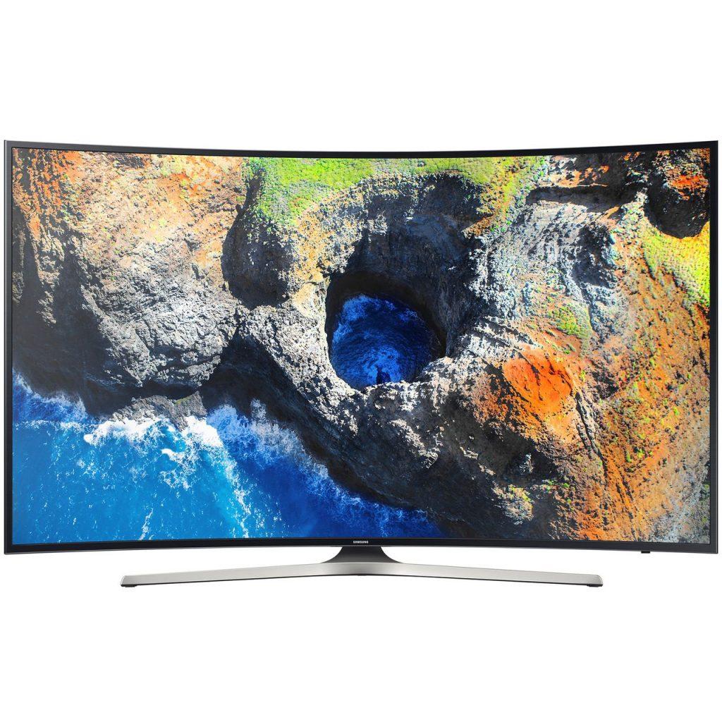 Телевизор LED Smart Samsung, 49`` (123 cм), Извит, 49MU6202, 4K Ultra HD