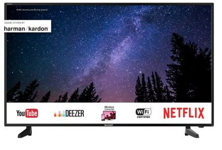 "Телевизор LED Smart Sharp, 40"" (102 см), 40UG7252E, 4K Ultra HD"